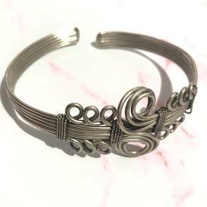 ❇️Adjustable Silver Bangle/Anklet/Choker/Bracelet